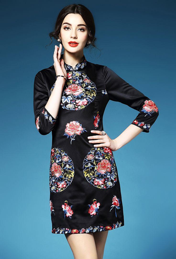 11 best Chinese Cheongsam images on Pinterest   Cheongsam, Chinese ...
