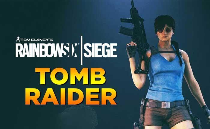 Rainbow Six Siege Bringing Tomb Raider Elite Skin And Tachanka
