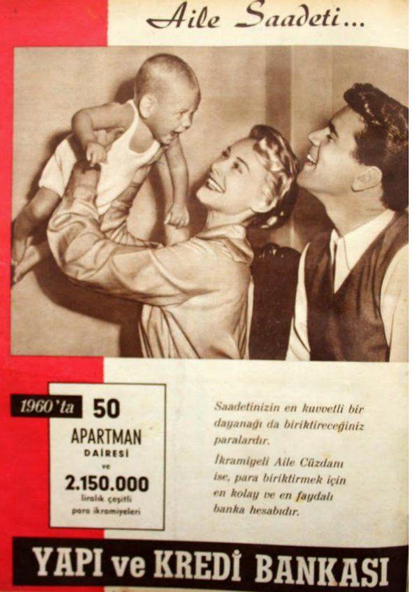 Aile Saadeti (1950'ler) #eskireklamlar #birzamanlar #istanlook #nostalji