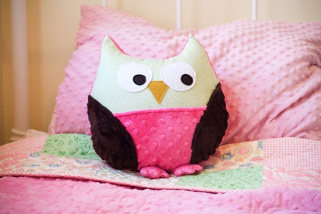 How To Make Cute Owl Pillows : Owl pillow tutorial with pattern! sew cute! Pinterest