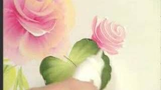 Donna Dewberry teaches you how to paint the cabbage rose, via YouTube.