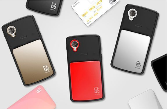 VERUS Damda Card Pocket Hard Case for Google Nexus 5
