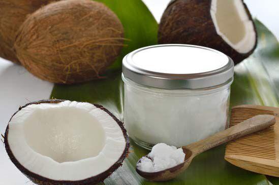 Haarkur mit Kokosöl