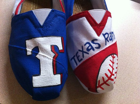 Rangers TOMS. i bought the stuff to make them today!!!