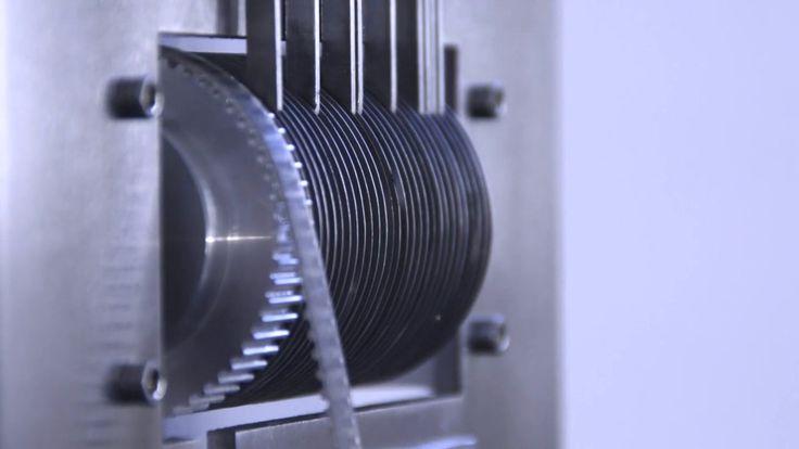 Mechanical Pi - In memory of William Shanks