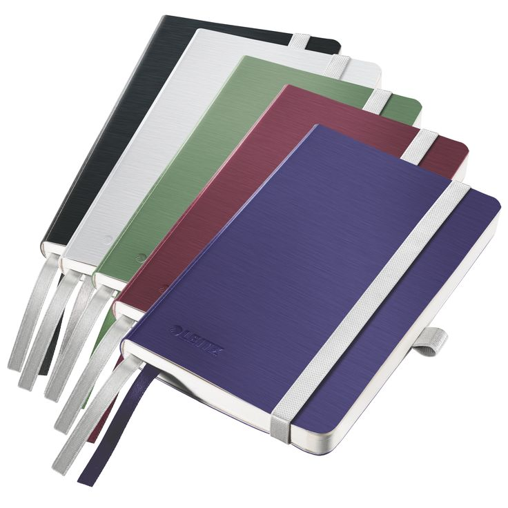 Leitz Style Notebook  Distinctive modern design for everyday note taking, with attractive soft brushed look and in sophisticated colours: arctic white, garnet red, celadon green, titan blue and satin black. Special features ensure optimum organisation of your notes.   #leitz #style #notebook #organisation #office #work #organised