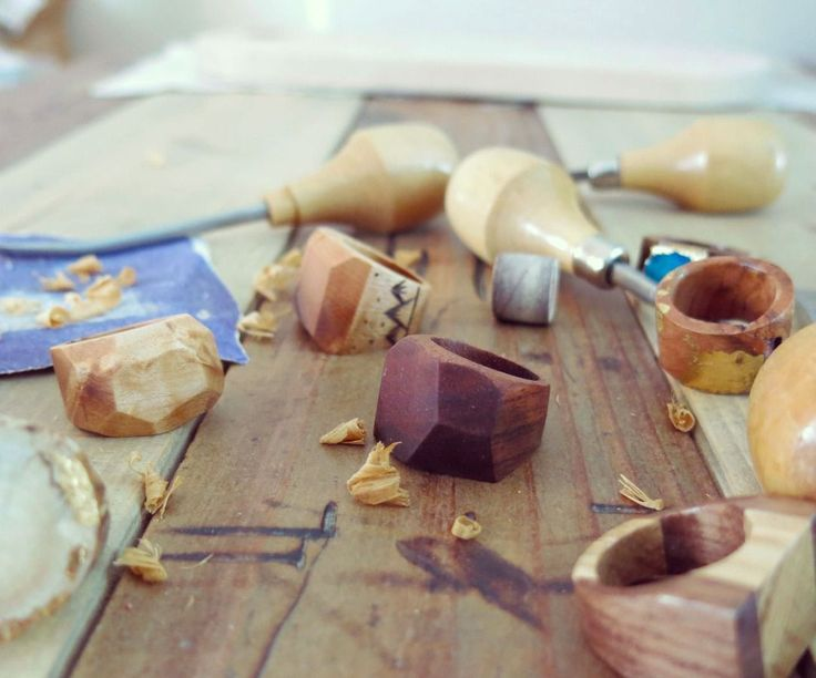 I have a sort of crazy obsession for ring making, and I thought it would be a good idea to make a tutorial to show others how to make wooden rings too...