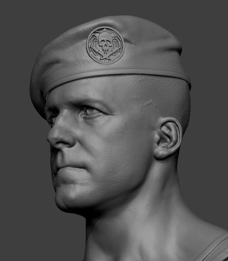 ArtStation - military guy, Arash Beshkooh