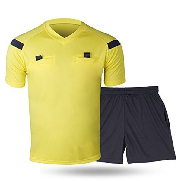 Referee Shirts Men S Soccer Football Sports Referee Umpire Shirt Uniform Jersey Costume Short Sleeves V Neck Wicking And Quick Drying Perfect For Outdoor Spo In 2020 Referee Shirts Mens Soccer Football Referee