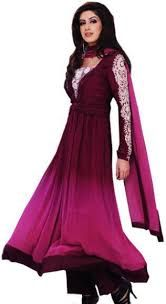 Image result for long dresses for pakistani girl