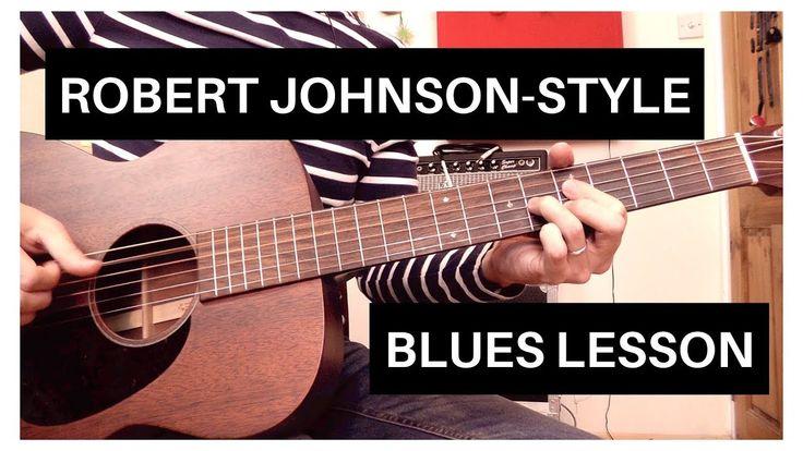 Easy Robert Johnson-Style Blues | Acoustic Guitar Lesson