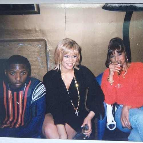 Lil Cease, Faith Evans & Mary J. Blige.