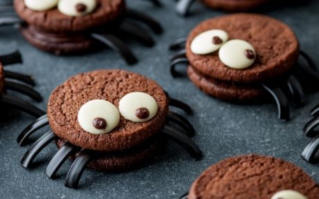 Scary Spider Cookies Recipe