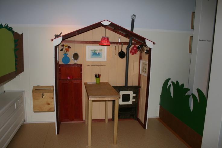 """Speelhuis """"Kikker"""" geïnspireerd op de boeken van Max Velthuijs in kb museum"""