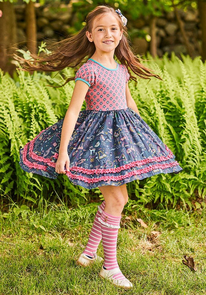 174c39ceba2e7 Odessa & Inara Size 8 & 2 Hypothesis Dress - Matilda Jane Clothing ...