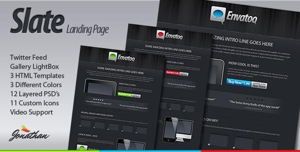 Slate Landing Page