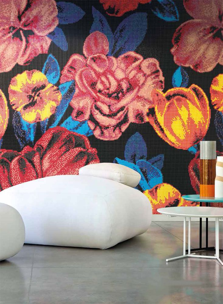 Mosaico Superflowers - Bisazza