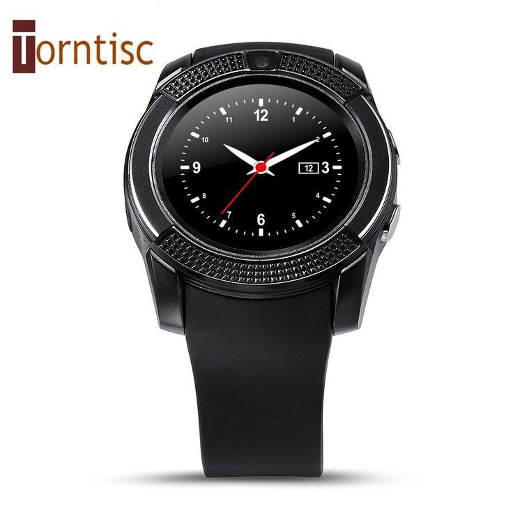 V8 smart watch uhr mit sim tf slot bluetooth konnektivität für apple iphone android telefon smartwatch uhr //Price: $US $23.59 & FREE Shipping //     #smartwatches