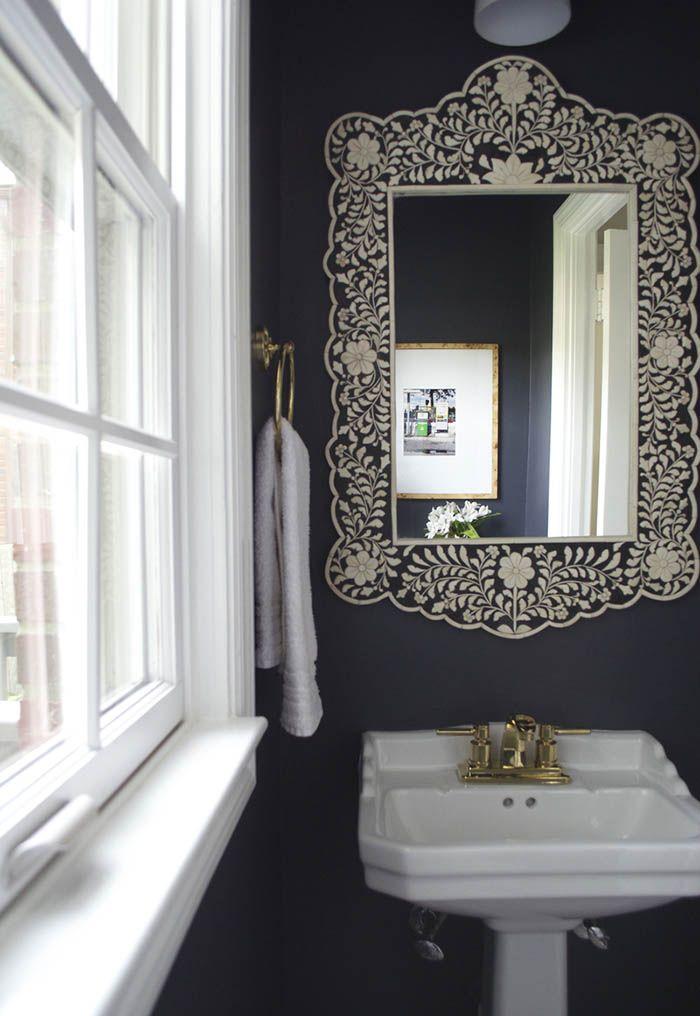 A Beloved Family Home In Washington, D.C.. Bathroom Wall DecalsBathroom  MirrorsBathroom ...
