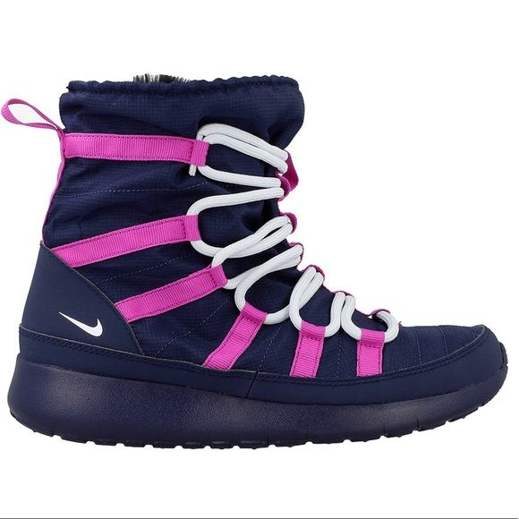 sports shoes 5a436 c6c7a 🆕 Nike Roshe One Hi Sneakerboots - Midnight Navy Built ...