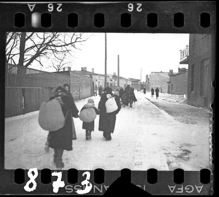 1940 – 1944: Deportação durante o inverno