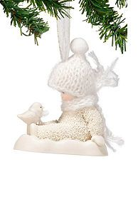 BELK: Dept 56 Snowbabies Chilly Chick Chat Ornament