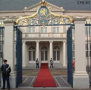 Paleis Noordeinde, werk paleis Koning Willem Alexander.
