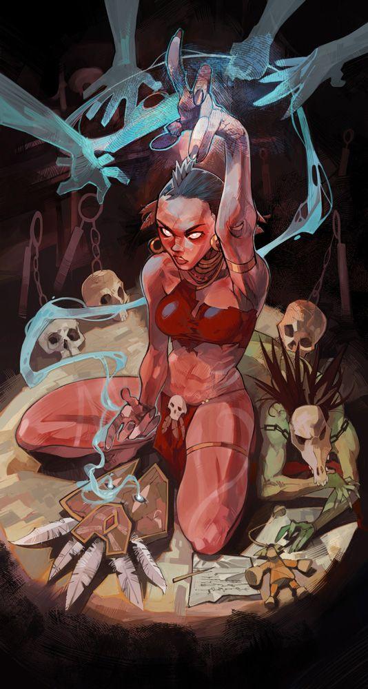 Diablo 3 Witch Doctor fan art (google search result)