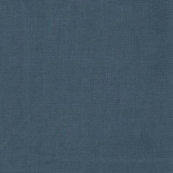Warwick Fabrics : HAVEN, Colour AEGEAN BLUE