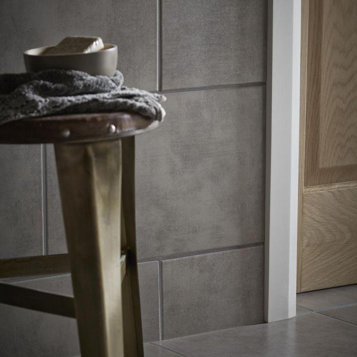 Urban White Stone Effect Ceramic Wall Floor Tile Pack: 13 Best Kitchen Flooring Images On Pinterest