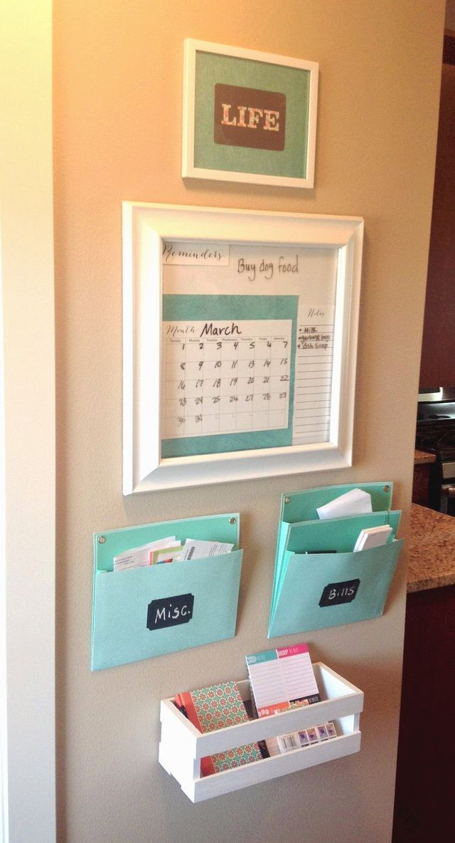 Today I am sharing with you a little project that I have been working on for the past couple of weeks! I'm copying everyone else on Pinterest and calling it a family command center. It's a small pro
