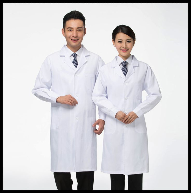 Free Shipping White Lab Coat Medical Clothes Doctors Uniforms for Women/Men Medical Clothing