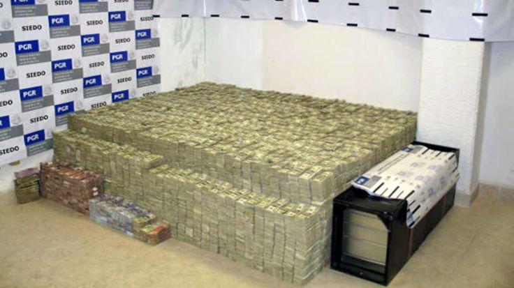 Argentina decomisa millones de dólares del narco mexicano