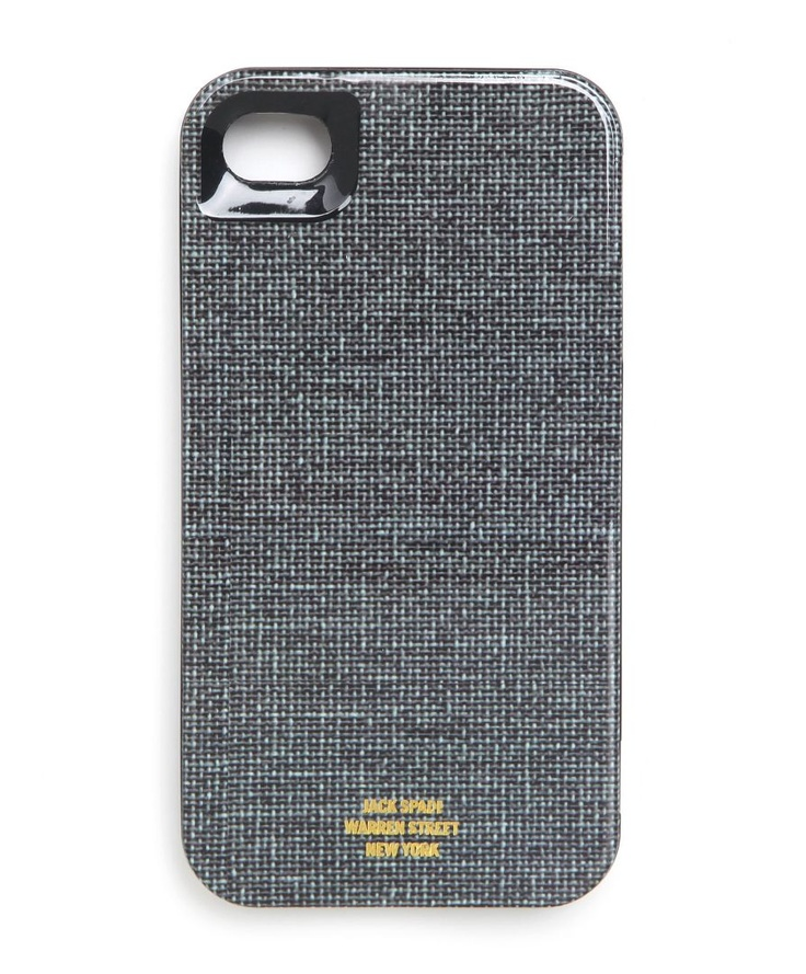 DENIM jack spade iphone case. First I need the iphone 4S