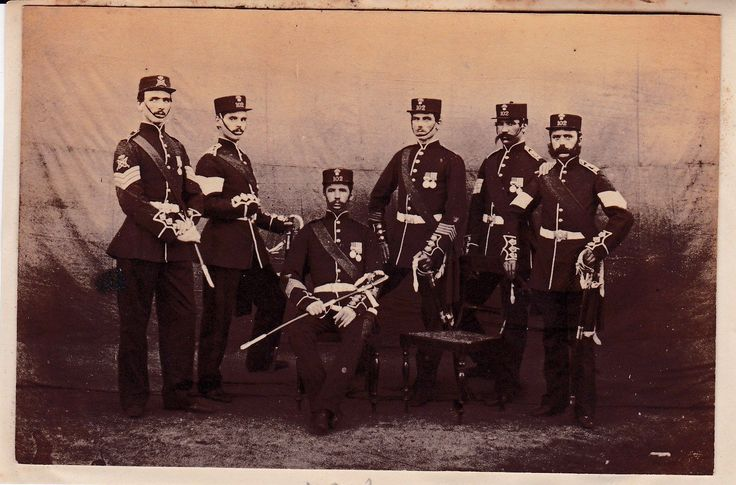 rare Victorian Photo of  the 102nd Foot - Royal Dublin Fusiliers