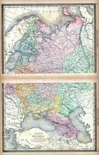 Далматово на Historic Map: Russia, Atlas: World Atlas 1890, - Historic Map Works, Residential Genealogy ™