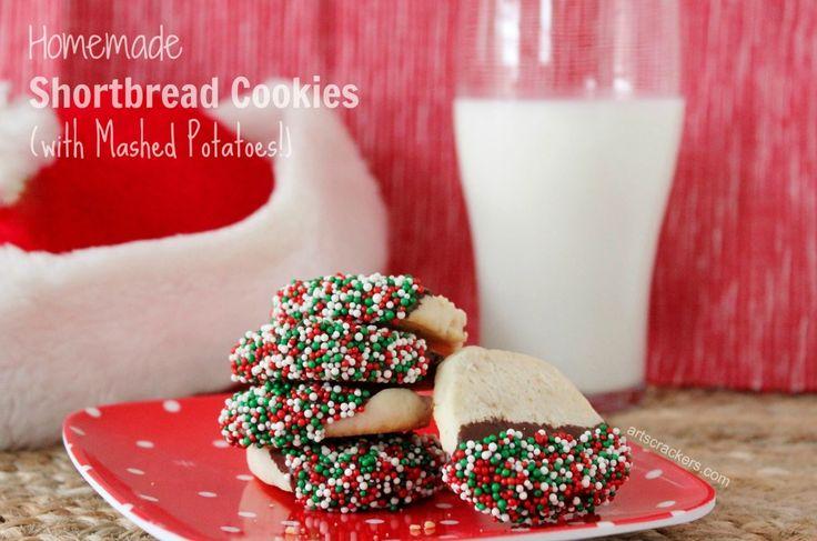 Shortbread Cookies with Idahoan Mashed Potatoes