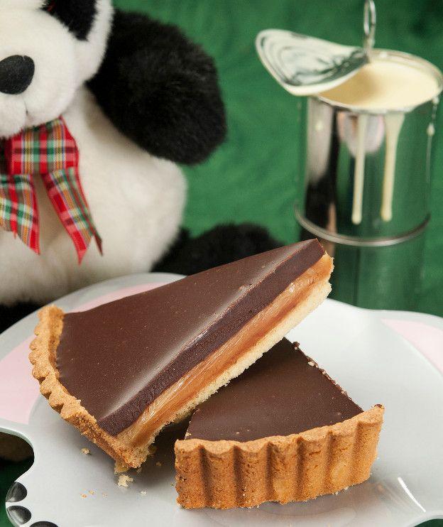 Τάρτα με ζαχαρούχο και σοκολάτα - Στέλιος Παρλιάρος
