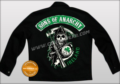 Sons Of Anarchy Biker Poly Cotton Jacket