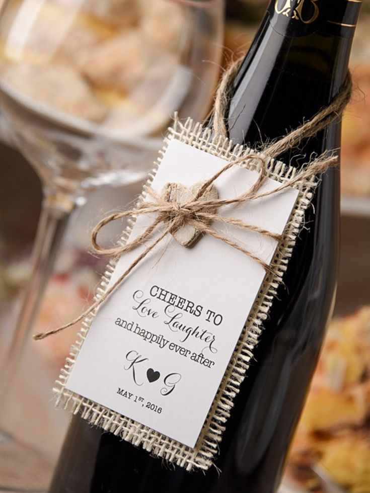 Rustic Wedding Wine Label See more here: http://4lovepolkadots.com/p/422/423/8067/WINE%20LABELS_32/rus/WL.html