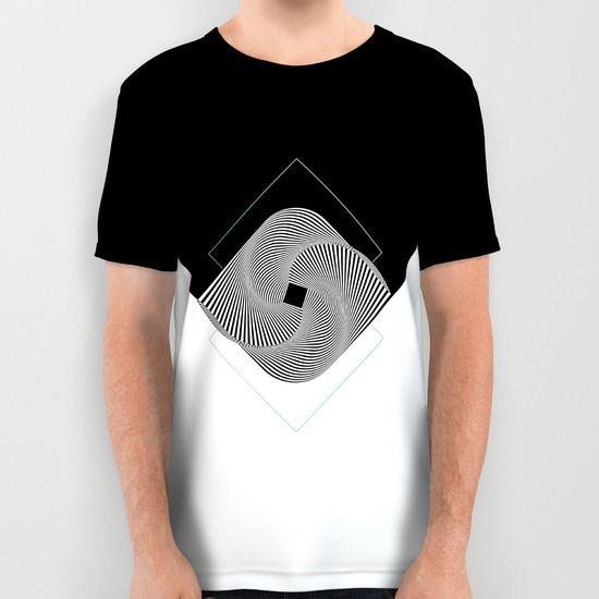 Op-Art All Over Print Shirt