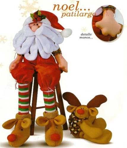 Patron Noel Patilargo con reno