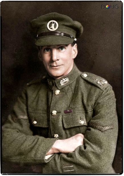 Lance Corporal William Henry Hewitt VC., (aged 33) 2nd South African Light Infantry. He was awarded his Victoria Cross near Ypres, Belgium on 20 September 1917