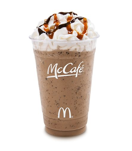 This is a low calorie McDonalds Frappe recipe from The Hungry Girl   CHOCOLATE CHIP FRAPPE  McDonald's Copycat Recipe   1 packet hot ...