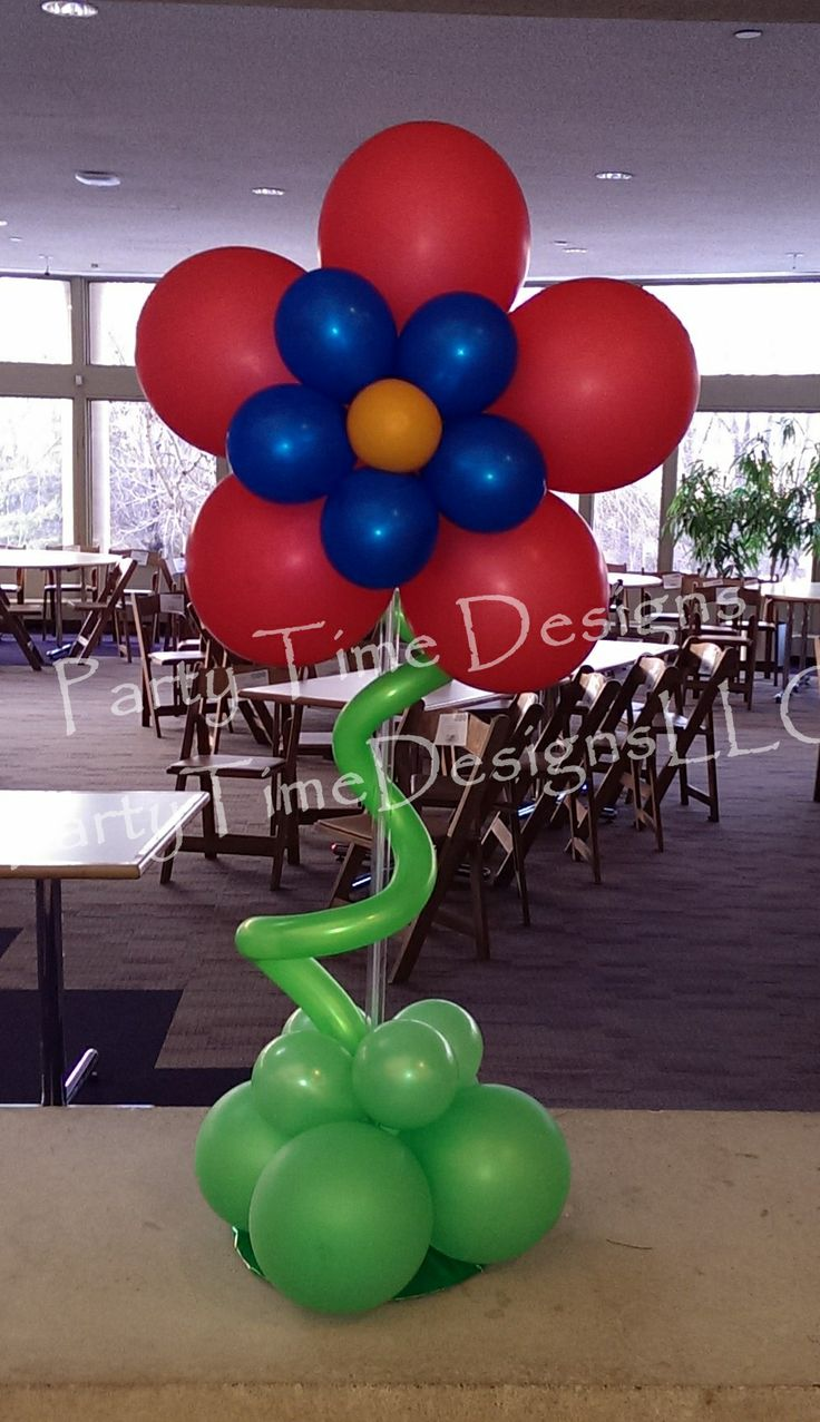Best images about balloon centerpiece on pinterest