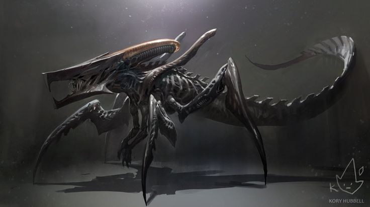 Xenomorph + Starship Trooperes Warrior Bug by Koryface on @DeviantArt
