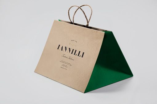 Beautiful identity and packaging for Iannilli Trattoria
