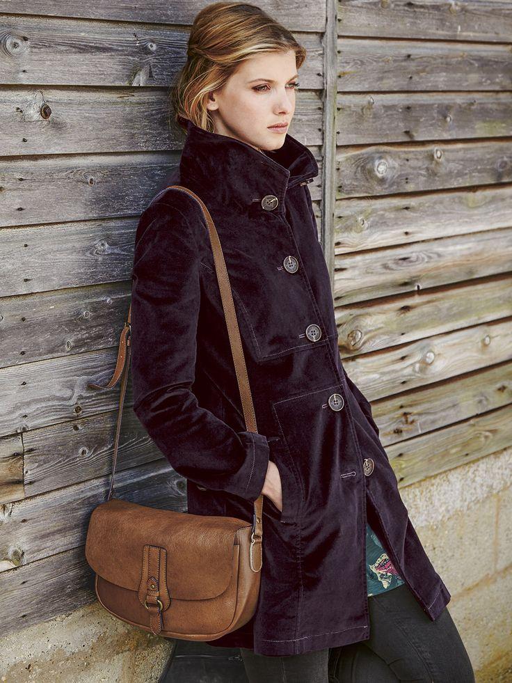VICTORIA SPONGE VELVET COAT | coats & jackets | White Stuff