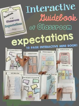 An interactive way to teach your students about your classroom expectations and procedures!