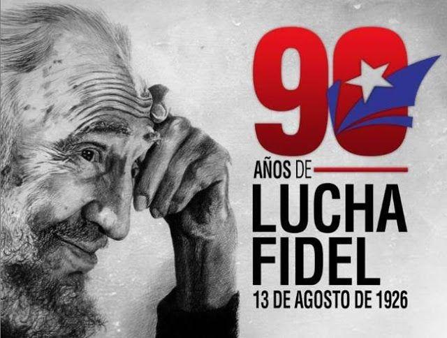 """FIDEL CASTTRO: """"QUE NINGUNA POTENCIA TOME EL DERECHO DE MATAR MILLONES DE SERES HUMANOS""""   En su cumpleaños 90 Fidel Castro llama a preservar la paz Por medio de un artículo Fidel evaluó la perspectiva mundial producto de las armas nucleares e instó a las potencias a respetar la vida de los seres humanos. El líder de la Revolución Cubana Fidel Castro exhortó a defender la paz como un bien inalienable de los pueblos ante la peligrosidad de las armas nucleares en el marco de su 90 cumpleaños…"""
